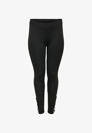 CURVY  - Leggings - Trousers - black