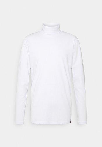 ROLLNECK TEE - Långärmad tröja - white