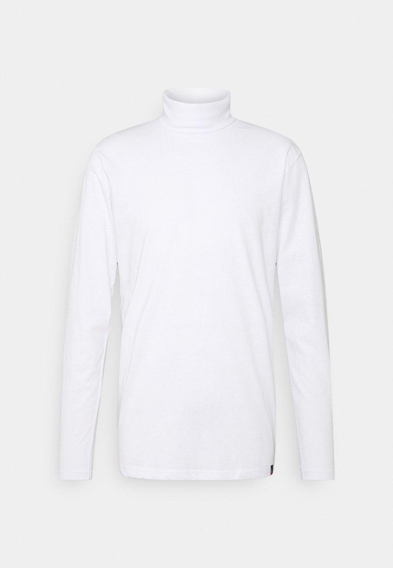 Denim Project - ROLLNECK TEE - Långärmad tröja - white