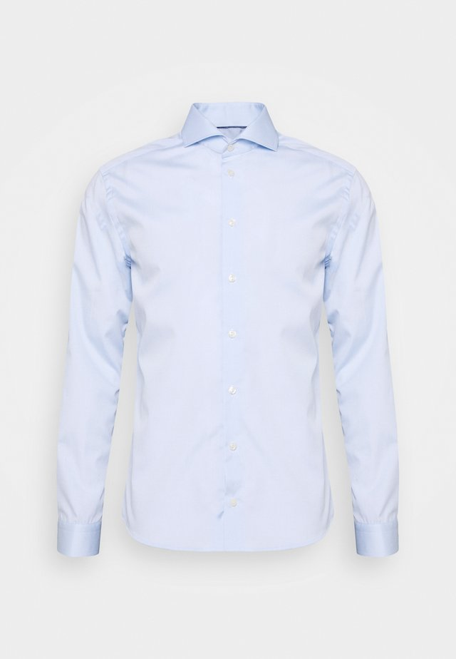 SUPER SLIM FIT - Kauluspaita - light blue