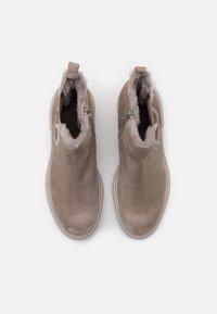 Kennel + Schmenger - BOBBY - Platform ankle boots - ombra/nature/creme - 5