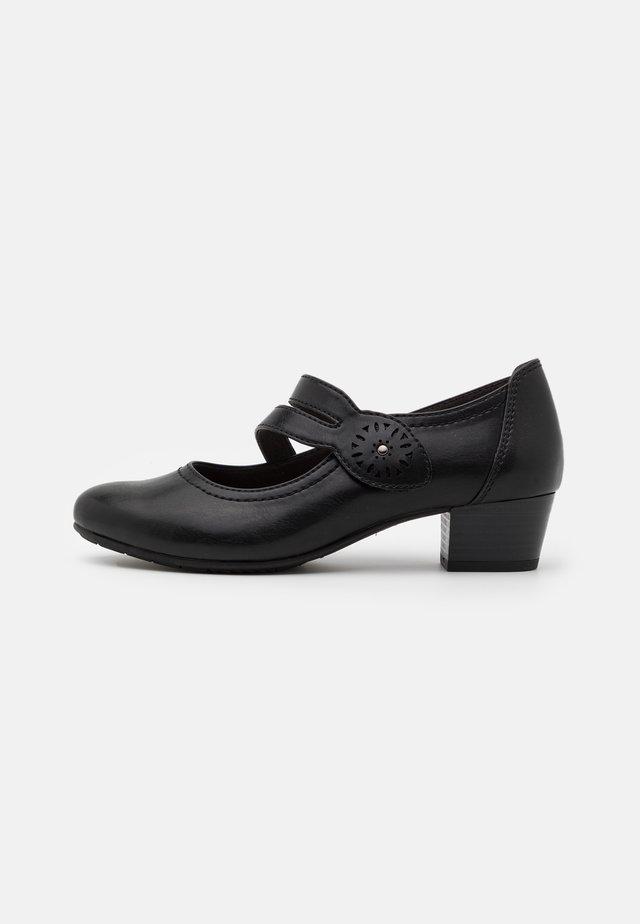 SLIP ON - Escarpins - black