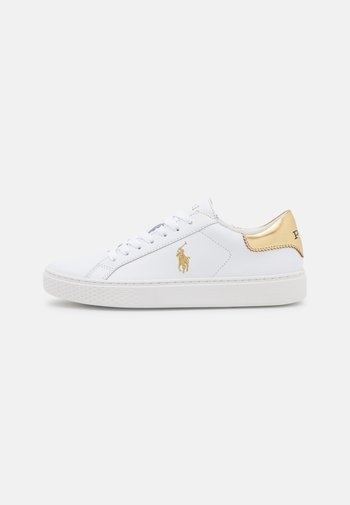 COURT ATHLETIC SHOE - Sneakers basse - white/gold