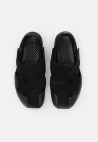 Jordan - FLARE UNISEX - Chanclas de baño - black/white - 3