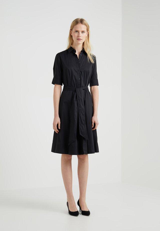 Shirt dress - polo black
