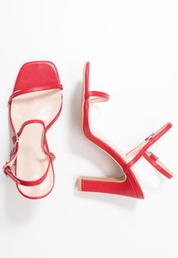 RAID Wide Fit - WIDE FIT SILVINA - Sandaletter - red - 3
