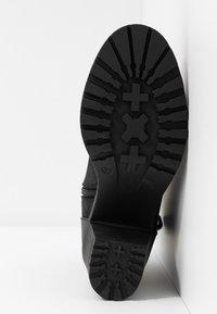 ONLY SHOES - ONLBARBARA BUCKLE LACEUP - Kotníková obuv - black - 6