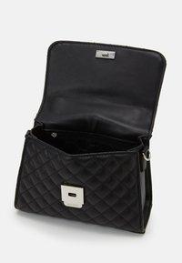 ALDO - KIBARA - Handbag - jet black/silver - 2