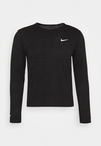 Nike Performance - MILER - Sports shirt - black/silver - 4
