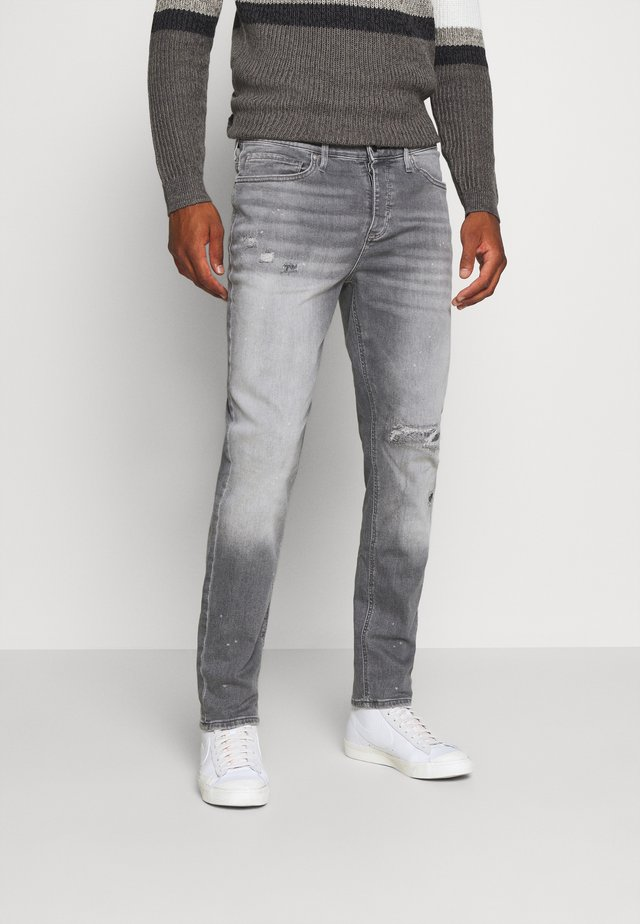 CABLE STETSON SLIM - Jean slim - grey