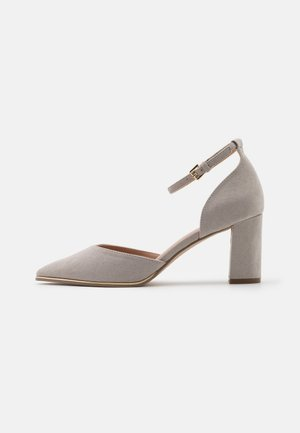 WIDE FIT EVOKE - Tacones - grey marl