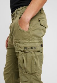 Alpha Industries - SQUAD - Cargo trousers - olive - 5