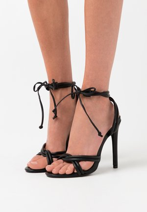 HOPE - High heeled sandals - black