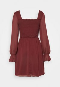Trendyol - SIYAH - Cocktail dress / Party dress - burgundy - 6