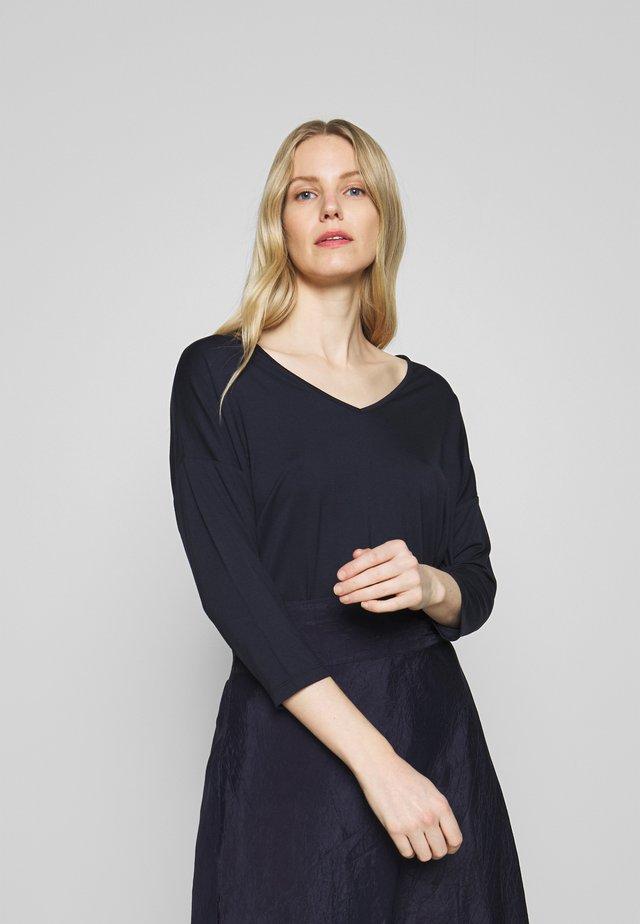 MARICA - T-shirt à manches longues - navy