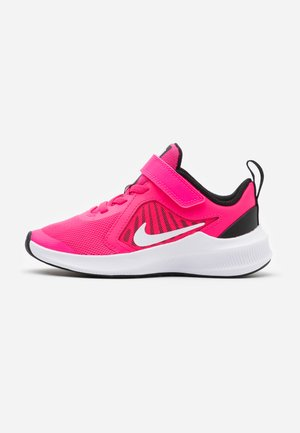 DOWNSHIFTER 10 UNISEX - Neutral running shoes - hyper pink/white/black