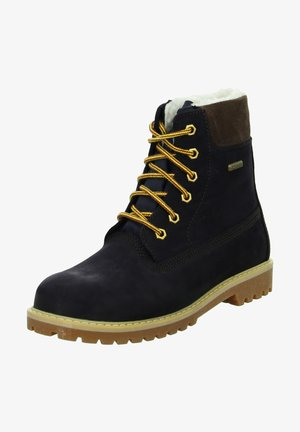 ANDY - Lace-up ankle boots - dunkel blau
