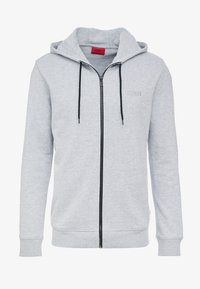 HUGO - DAPLE - veste en sweat zippée - open grey - 3