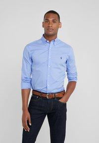 Polo Ralph Lauren - NATURAL SLIM FIT - Shirt - periwinkle blue - 0