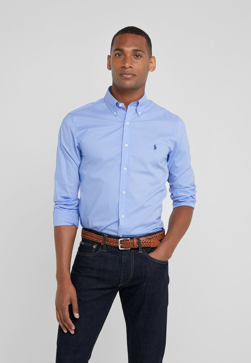 Polo Ralph Lauren - NATURAL SLIM FIT - Shirt - periwinkle blue