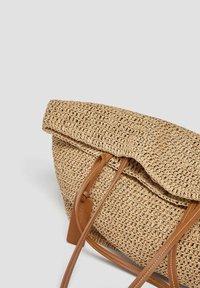 PULL&BEAR - Tote bag - light brown - 2