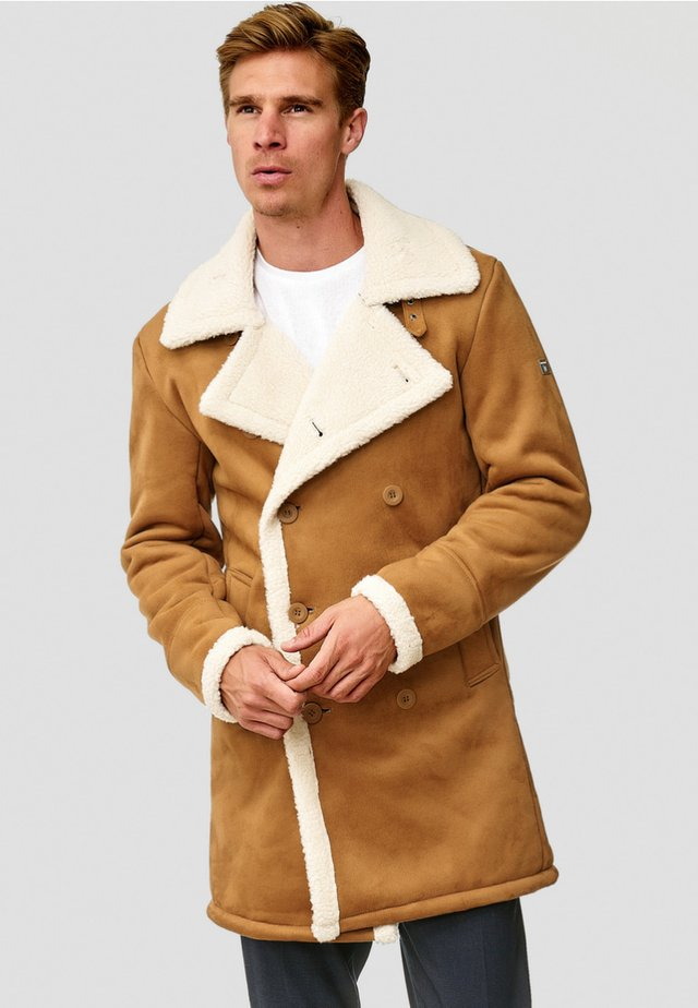 BARLOW - Winter coat - camel