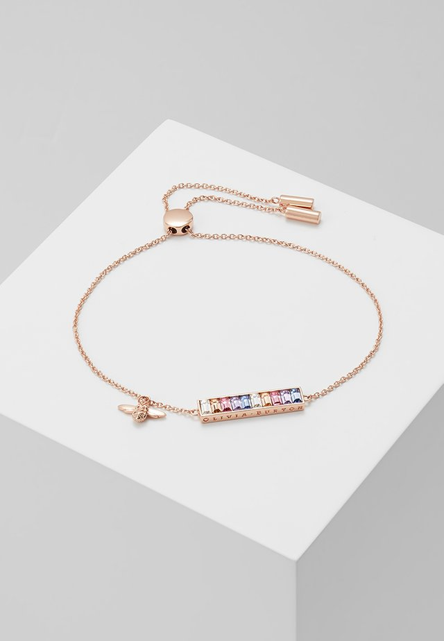 RAINBOW BEE - Bracciale - rosegold-coloured