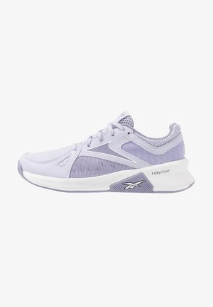 ADVANCED TRAINETTE - Zapatillas de entrenamiento - wild lilac/white/violet haze