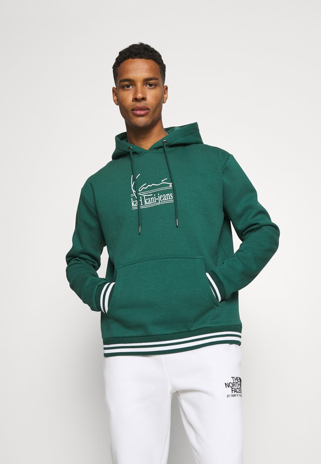 SIGNATURE HOODIE - Sweatshirt - green