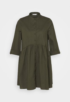 ONLDITTE LIFE DRESS - Shirt dress - forest night