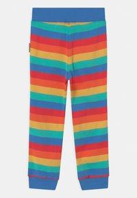 Frugi - FAVOURITE CUFFED RAINBOW - Tracksuit bottoms - rainbow - 1