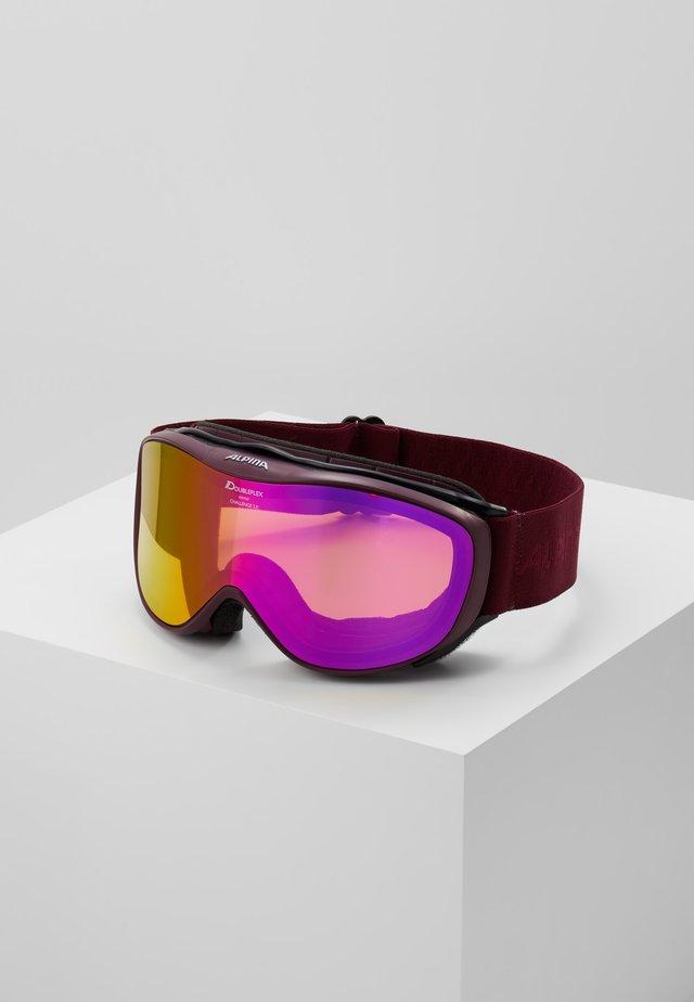 CHALLENGE 2.0 - Ski goggles - cassis