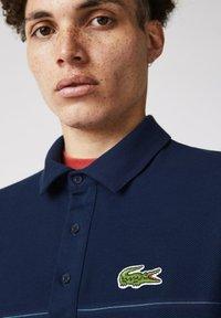 Lacoste - KORTE MOUW - Polo shirt - blau rot weiß - 1