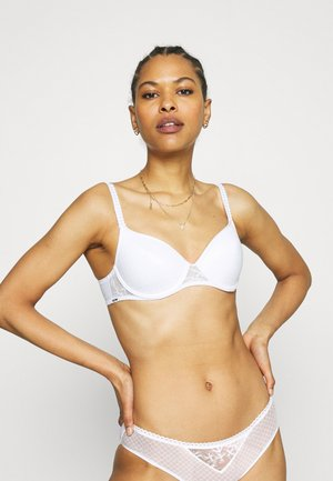 INSTANTS BRA COVERING MEMORY - Underwired bra - white