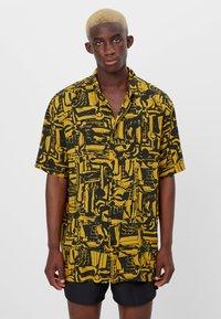 Bershka - Shirt - mustard yellow - 0