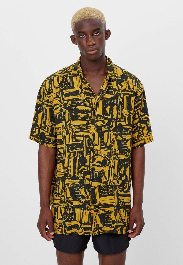 Shirt - mustard yellow