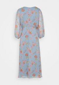 Vila - VIDIANELLA O NECK MIDI  DRESS - Cocktail dress / Party dress - ashley blue/pink - 1