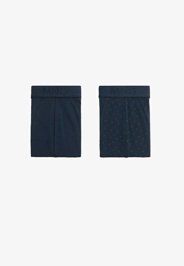 2 PACK - Shorty - bleu marine foncé