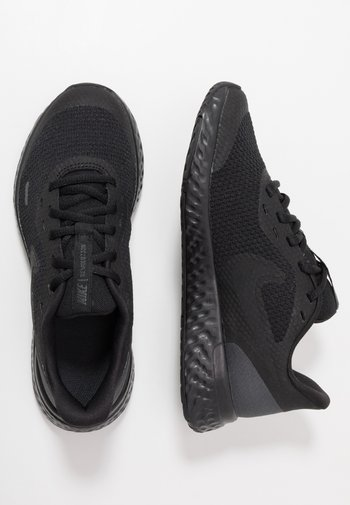 REVOLUTION 5 UNISEX - Neutral running shoes - black/anthracite