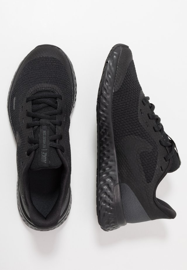 REVOLUTION 5 UNISEX - Neutral running shoes - black/anthracite