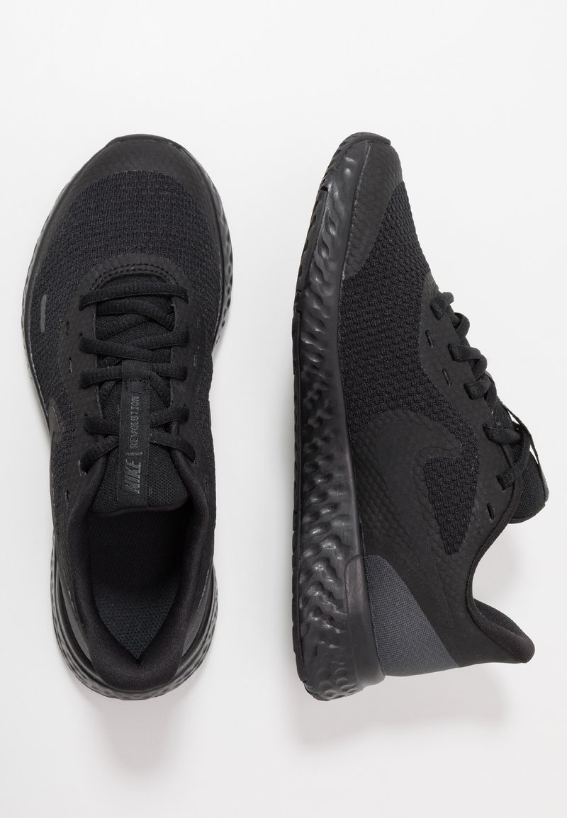 Nike Performance - REVOLUTION UNISEX - Obuwie do biegania treningowe - black/anthracite