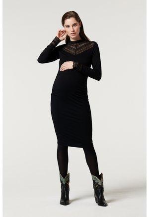FANCY - Shift dress - black