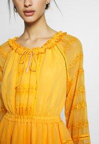 YAS - YASDANA DRESS  - Vestido informal - cadmium yellow - 6