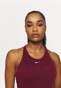 Nike Performance - AEROADAPT TANK - Funktionsshirt - dark beetroot/metallic silver - 3