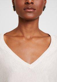 Anna Field - RELAXED V-NECK - Jersey de punto -  beige melange - 4