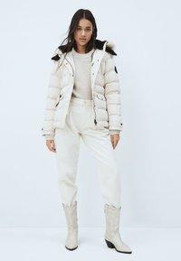 Pepe Jeans - ALMAH - Down jacket - buttermilk - 1