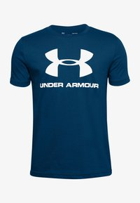 Under Armour - Print T-shirt - graphite blue - 0