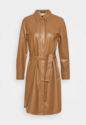 WELONI - Shirt dress - peanut