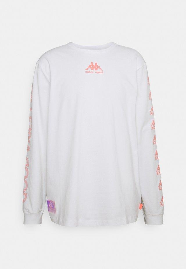 HIGH5 FLATRATE - Maglietta a manica lunga - bright white