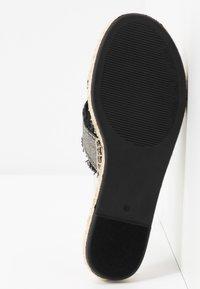 Lauren Ralph Lauren - CROSS - Pantofle - black - 6